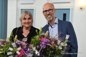 Organisator Janna van Zon en fotograaf Arjen Vo